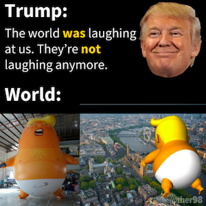 Trump funny